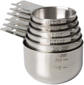 KitchenMade Stackable Measuring Cups
