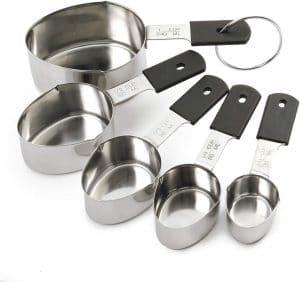 Norpro Grip-Ez Stainless Steel Measuring Cups