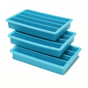 Webake 3 Pack Silicone Ice Cube Trays for Water Bottles