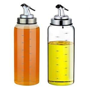 (2 Pack) Olive Oil and Vinegar Dispensers