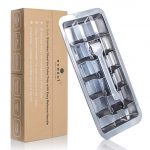 Ecozoi Stainless Steel Metal Ice Cube Tray