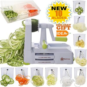Brieftons 10-Blade Zoodle Maker