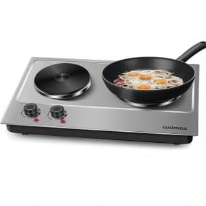 Cusimax 1800W Double Hot Plate