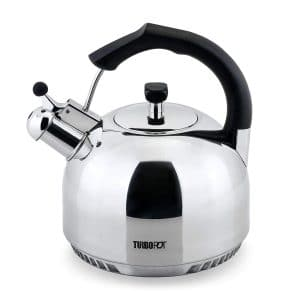 FreshAir Stainless Steel Tea Kettle by Turbo Pot
