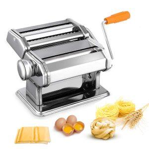Noeler Pasta Crank Stainless Steel Pasta Roller Machine
