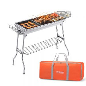 Comsenz Portable Charcoal Grill