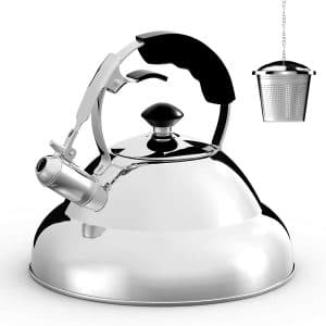 Willow & Everett Stainless Steel Whistling Teapot