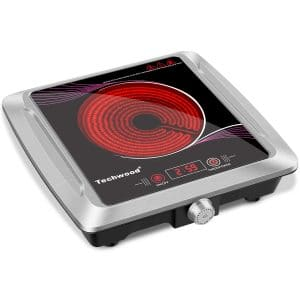 Techwood Hot Plate Electric Stove